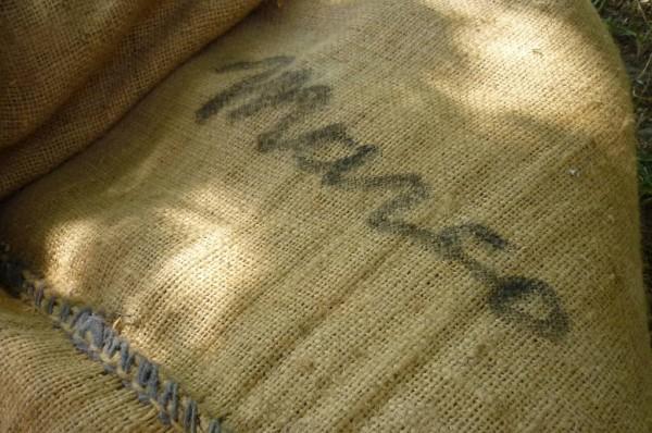 Mijn naam op de zak van jutta