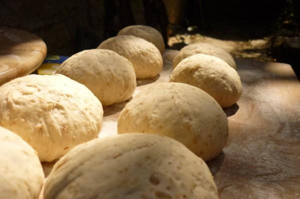 Semi-integraal brood tijdens de laatste fase van de levitatie