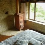 La stufa in terracotta (Becchi) nella casa piccola