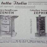 Pubblicità 1937 IMAR CALORIFERO ZEPHIR