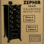 Pubblicità 1948 ZEPHIR STUFA