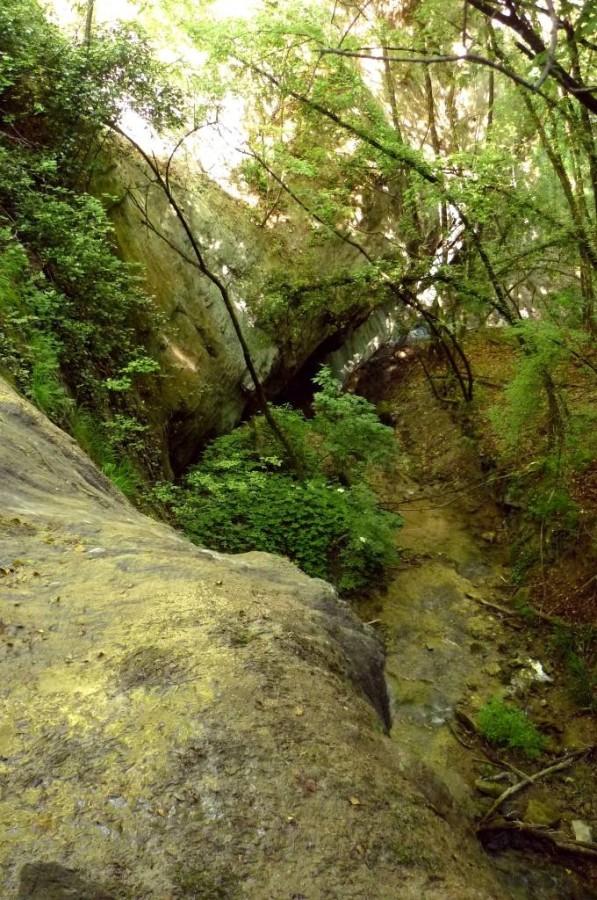 La cascata più grande vista da sopra
