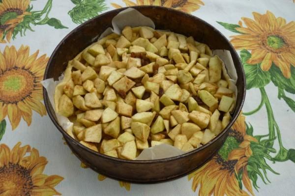 aggiungere le mele