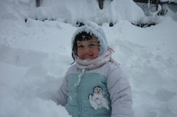Josephine nella neve