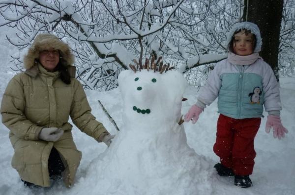 Un altro pupazzo di neve