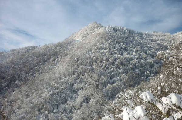 Val Tassaro nella neve 2015